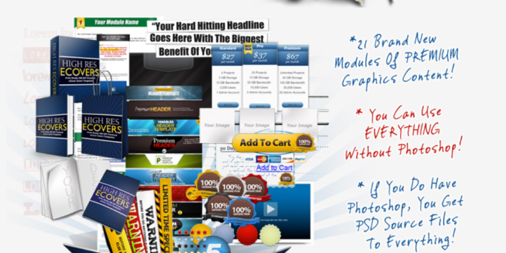 MARKETING GRAPHICS SET