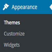 Delete those unwanted widgets and even add new themes