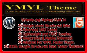 YMYL Schema Markup Theme Screenshot