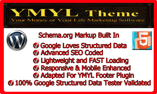 YMYL Schem Markup Theme Screenshot